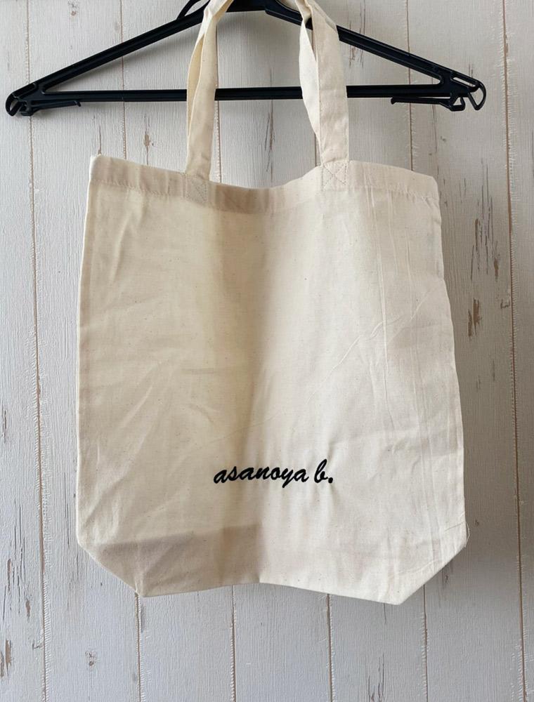 オリジナルトートバッグ 刺繍
