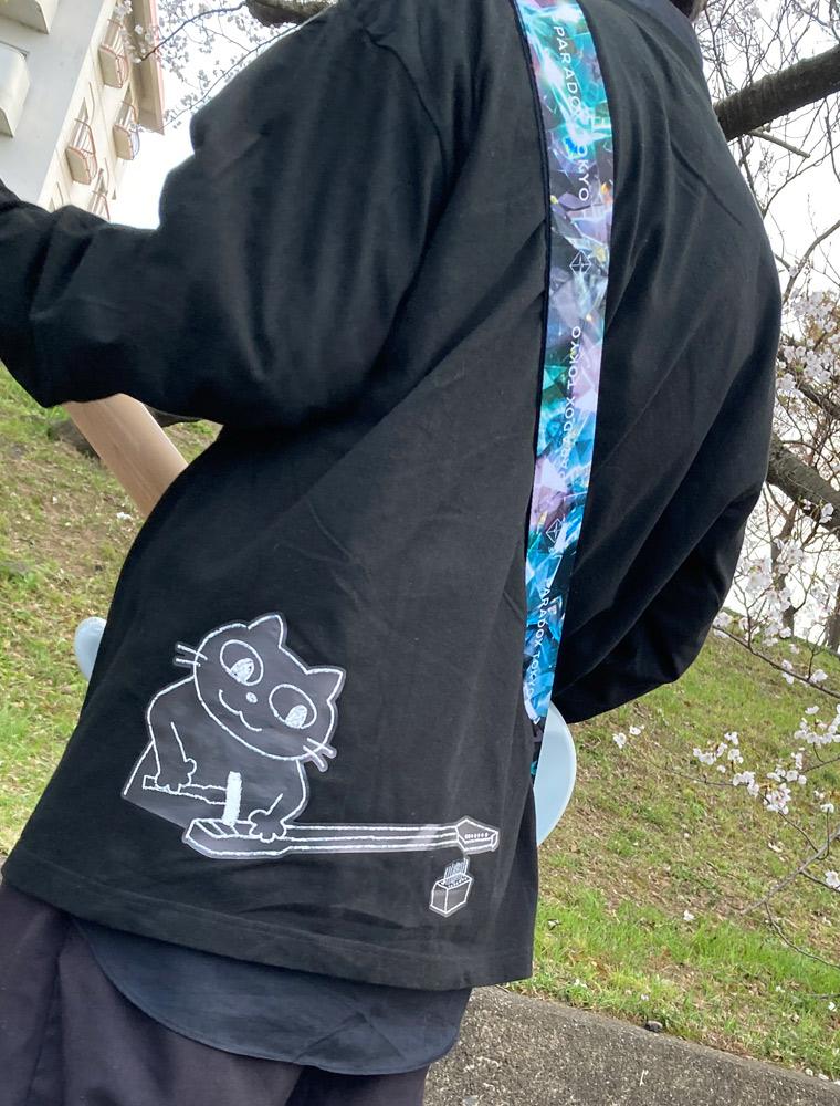 オリジナルロングTシャツ プリント
