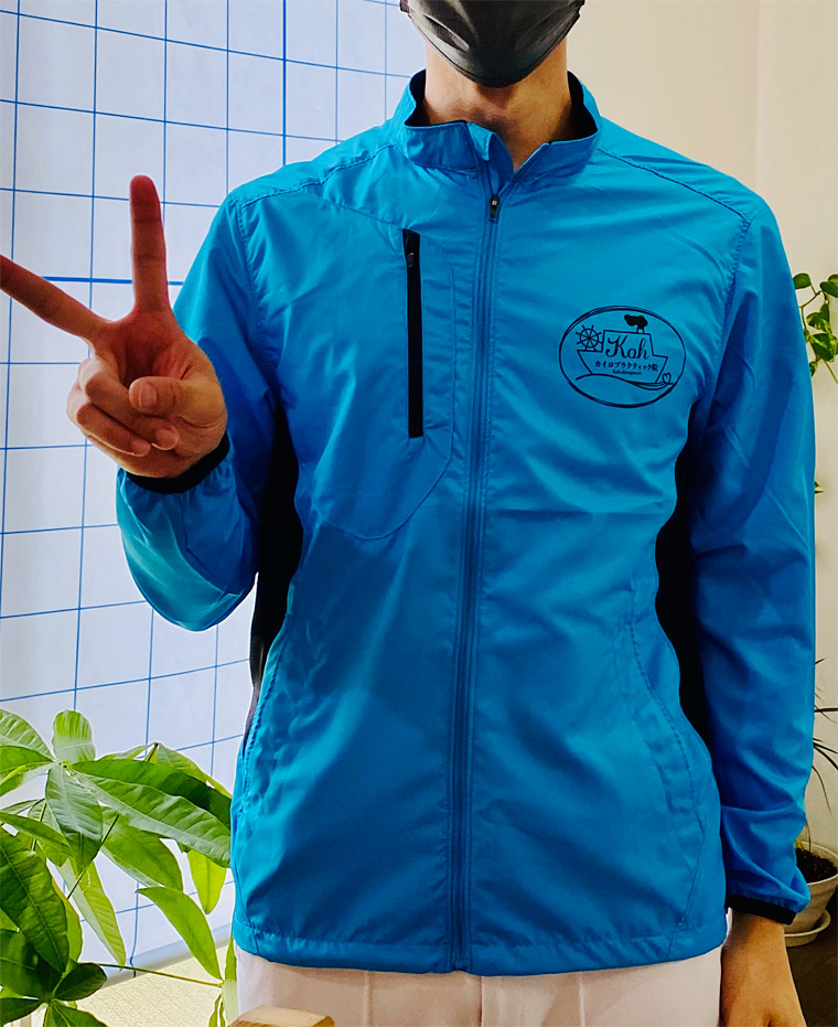 制作事例 オリジナルジャケット シルクスクリーンプリント