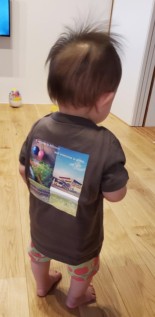 キッズ オリジナルTシャツ